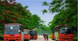 লকডাউনে শিক্ষার্থীদের নিজ বিভাগীয় শহরে পৌঁছে দেবে বেরোবি'র বাস